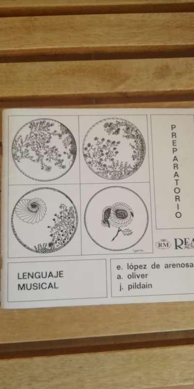 Imagen Libro lenguaje musical preparatorio