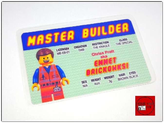 Imagen producto Acreditaciones Maestro constructor Lego 3