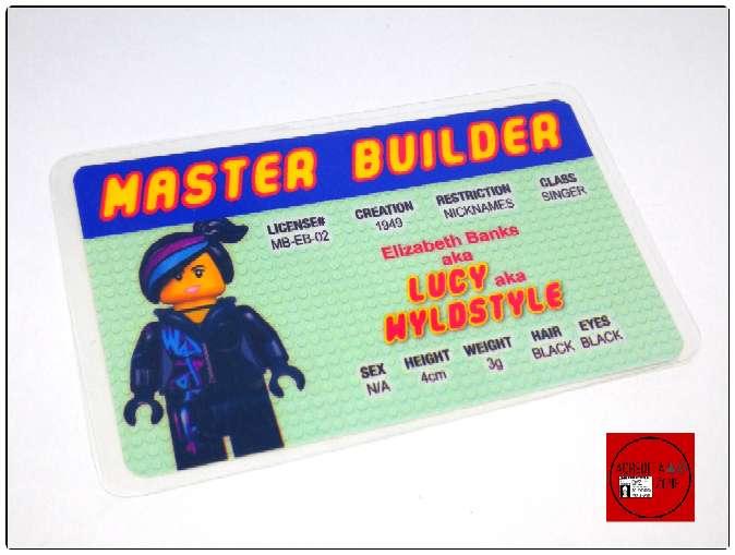 Imagen producto Acreditaciones Maestro constructor Lego 2