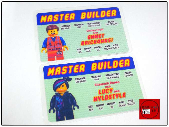 Imagen Acreditaciones Maestro constructor Lego