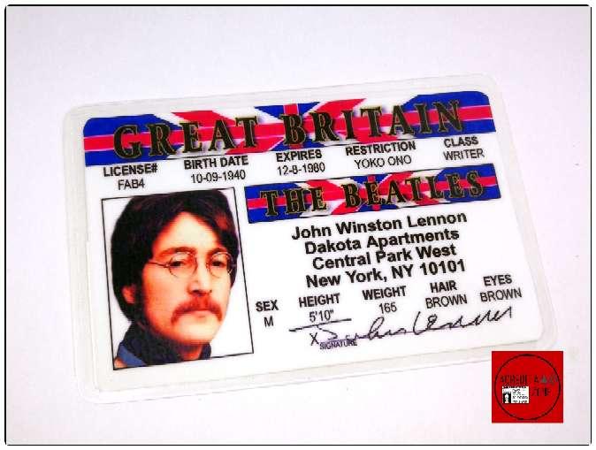Imagen Acreditaciónes de los The Beatles.