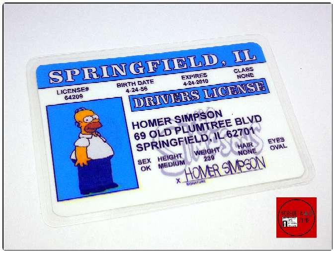 Imagen producto Acreditaciones de Los Simpsons 3