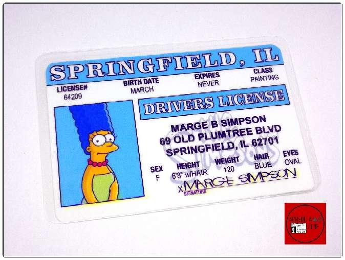 Imagen producto Acreditaciones de Los Simpsons 4