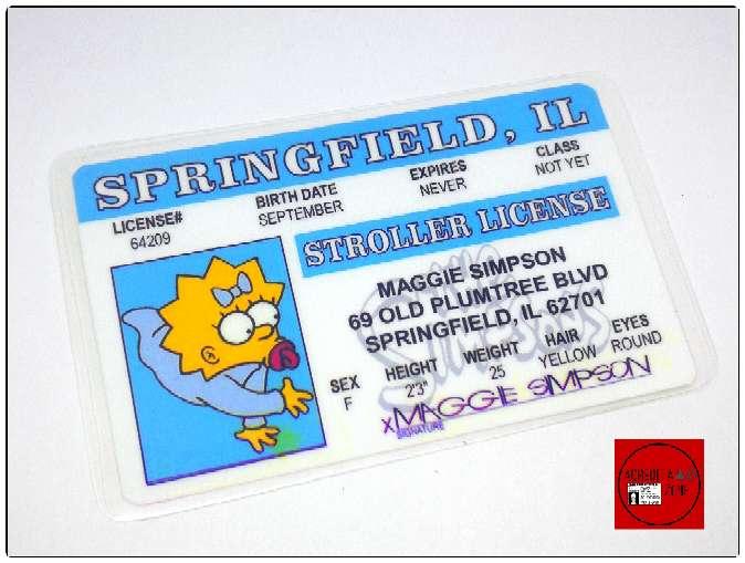 Imagen producto Acreditaciones de Los Simpsons 5