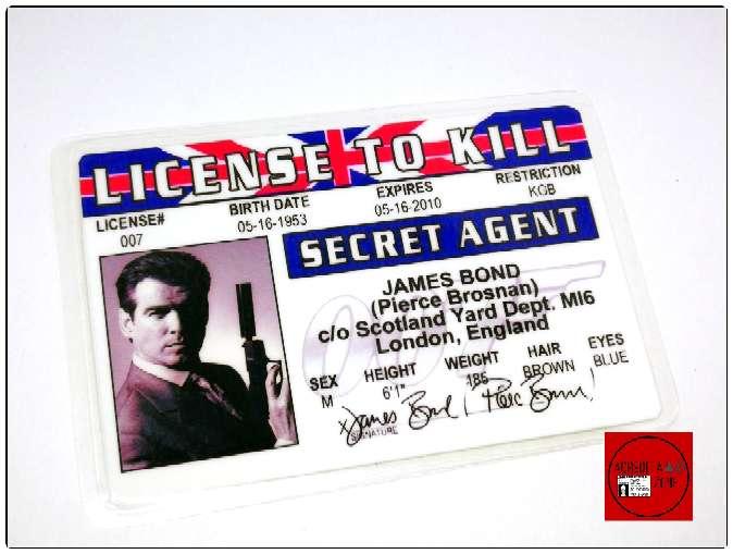Imagen Acreditaciones del Agente 007 James Bond