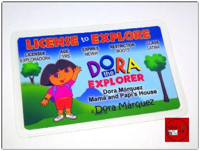 Imagen Acreditación de Dora Exploradora.