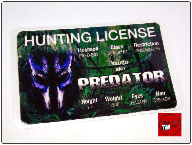 Imagen Acreditación licencia de cazador Predator.