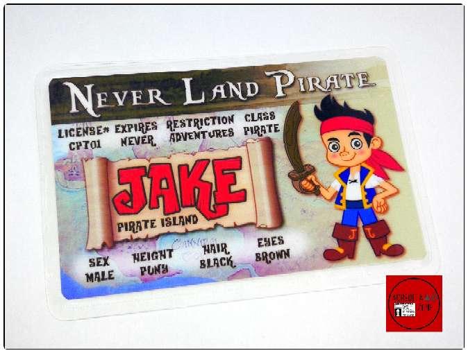 Imagen Acreditación de Jake El Pirata