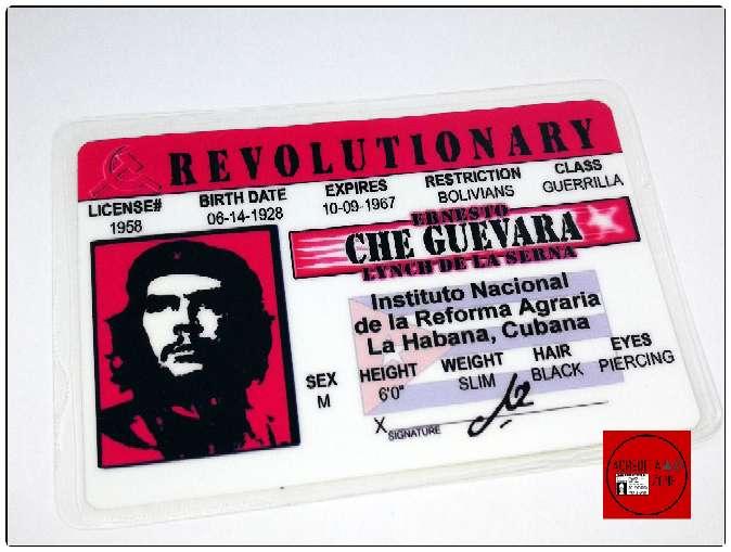 Imagen Acreditación del Revolucionario Ernesto Che Guevara.