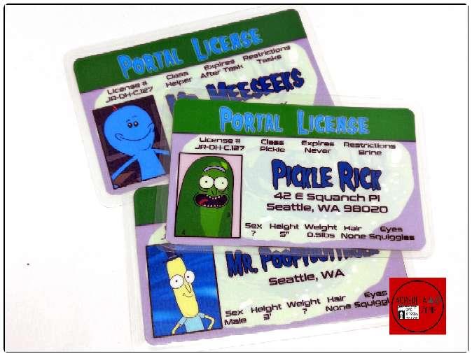 Imagen Acreditaciones de Rick y Morty + amigos.
