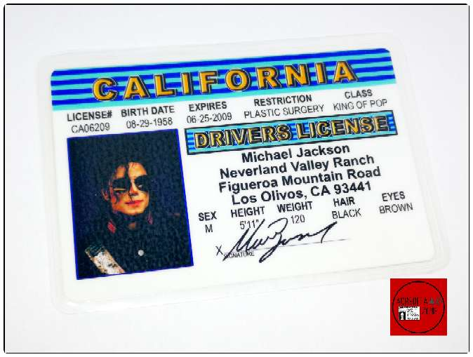 Imagen producto Acreditación Michael Jackson Ayuwoki 3