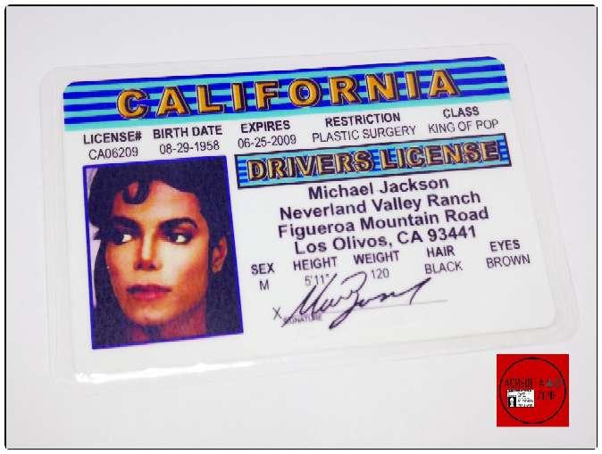 Imagen producto Acreditación Michael Jackson Ayuwoki 2