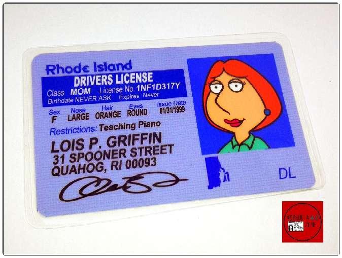 Imagen producto Acreditación de Peter Griffin de la serie Padre de familia  5