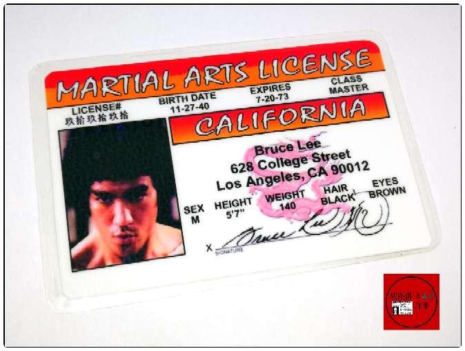 Imagen Acreditación de Bruce Lee