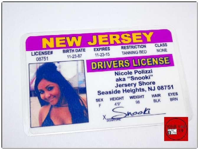Imagen Acreditación de Snooky de Jersey Shore