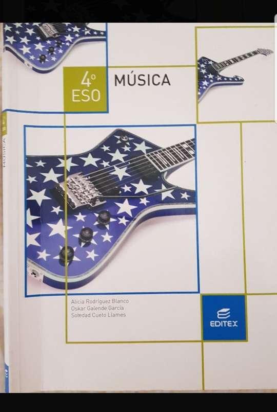 Imagen Libro música 4 eso