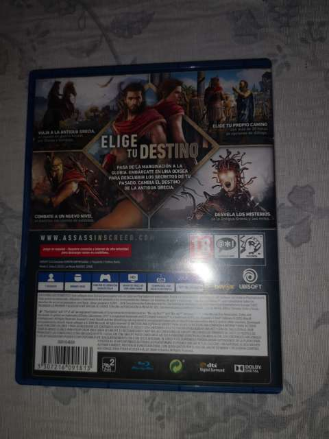 Imagen Assassin creed odisey ps4