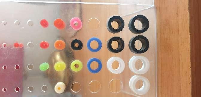 Imagen Dilatas de silicona y pendientes