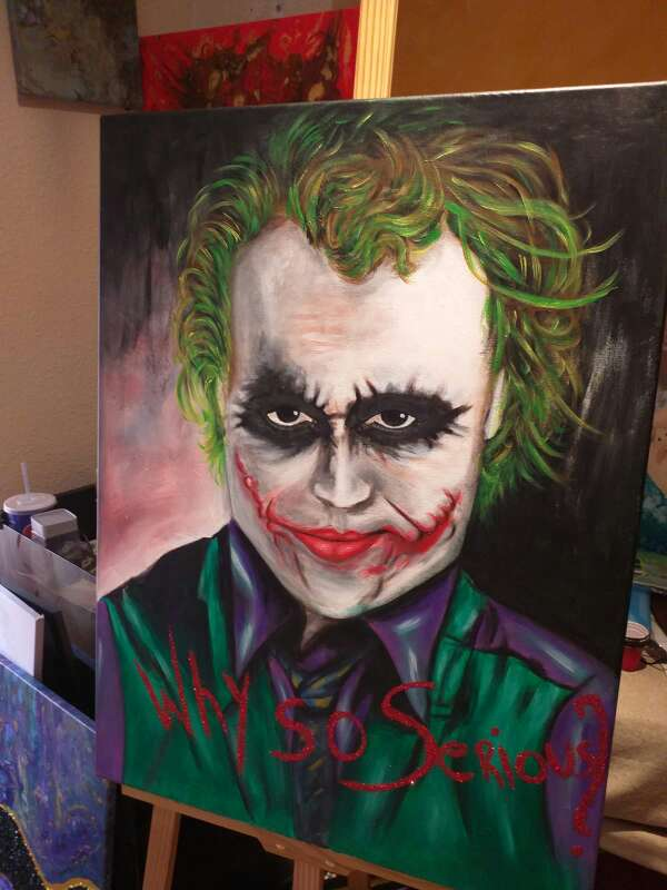 Imagen Joker - Pintura