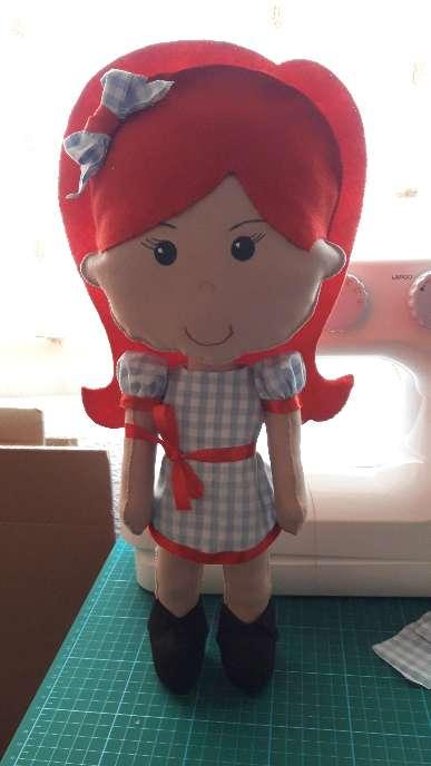 Imagen muñeca  hecha a mano