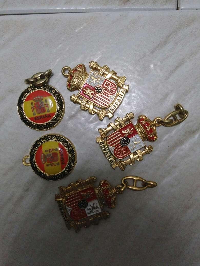 Imagen producto Llaveros bandera España 3