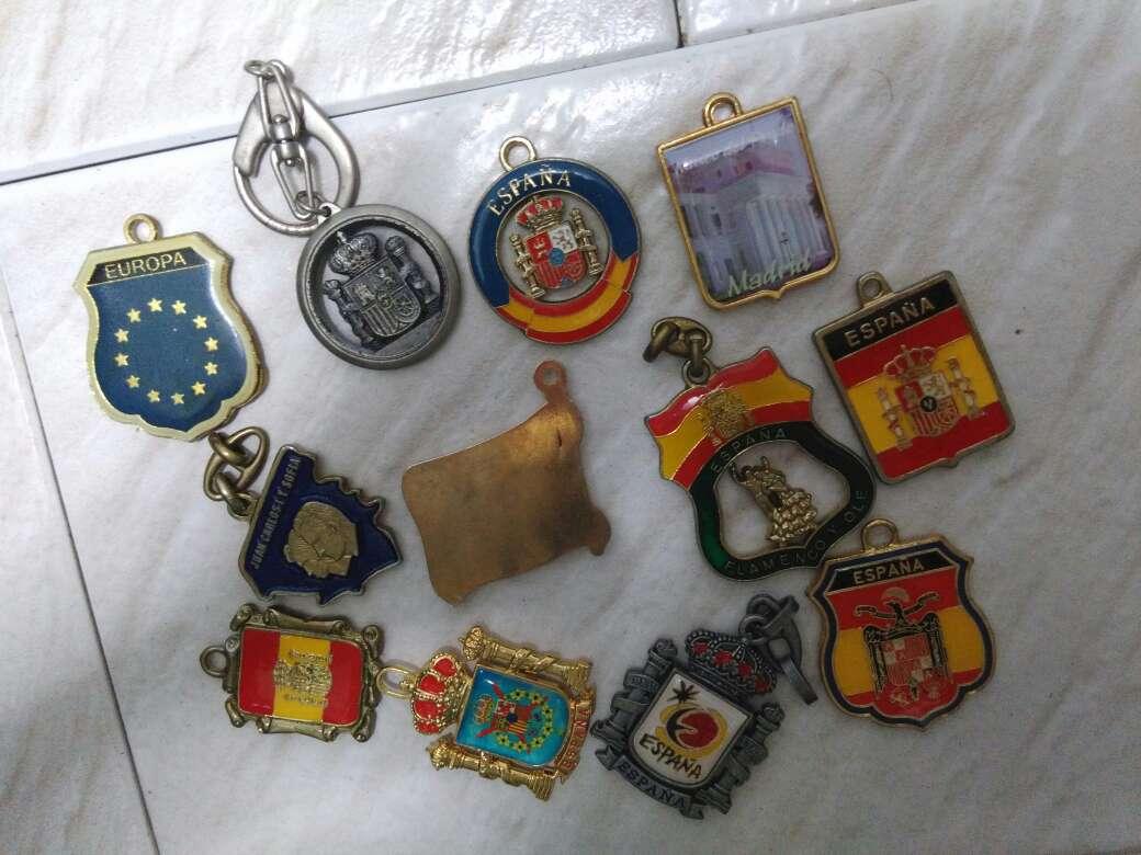 Imagen producto Llaveros bandera España 2