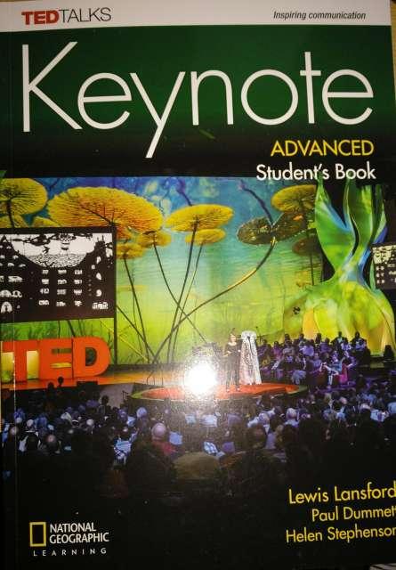 Imagen Keynote Advance student's book C1 (Nuevo)