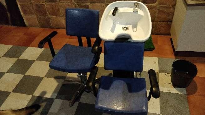 Imagen Limpia cabeza y sillón hidráulico