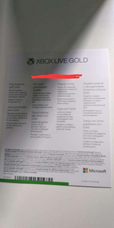 Imagen Mando de xbox nuevo+Xbox gold live+Game pass
