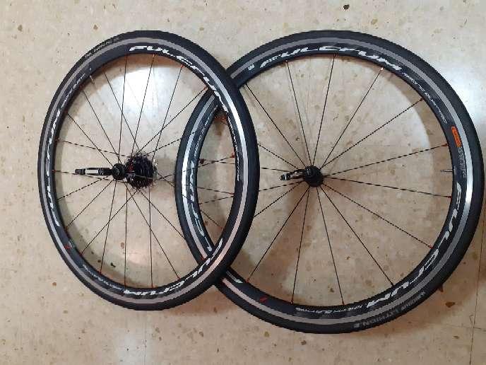 Imagen juego ruedas bicicletas