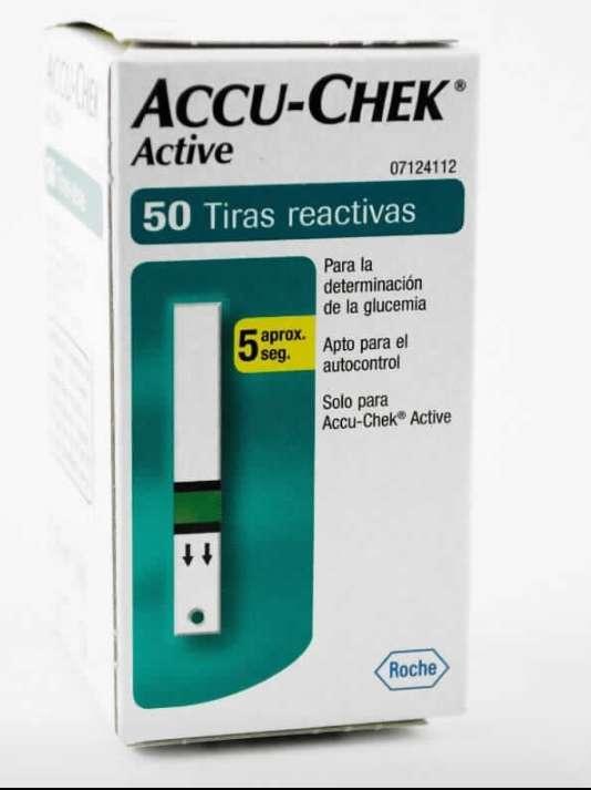 Imagen 20 cajas de tiras reactivas ACCU-CHEK active
