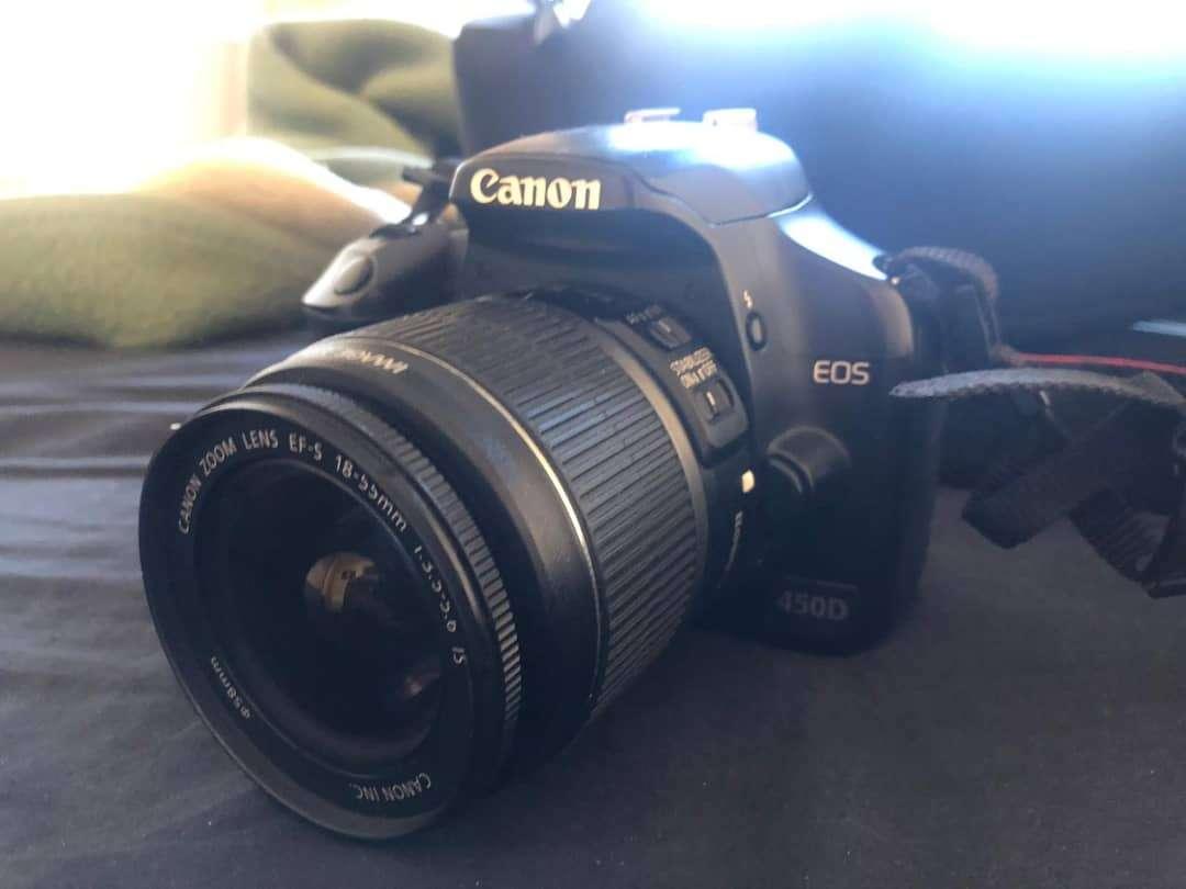 Imagen producto Canon eos 450D 3