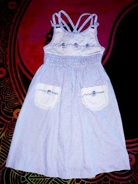 Imagen producto Vestido piqué, 5 años.  1