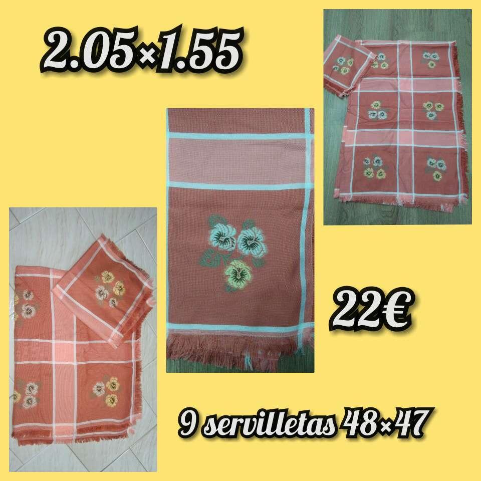 Imagen Manteles + servilletas