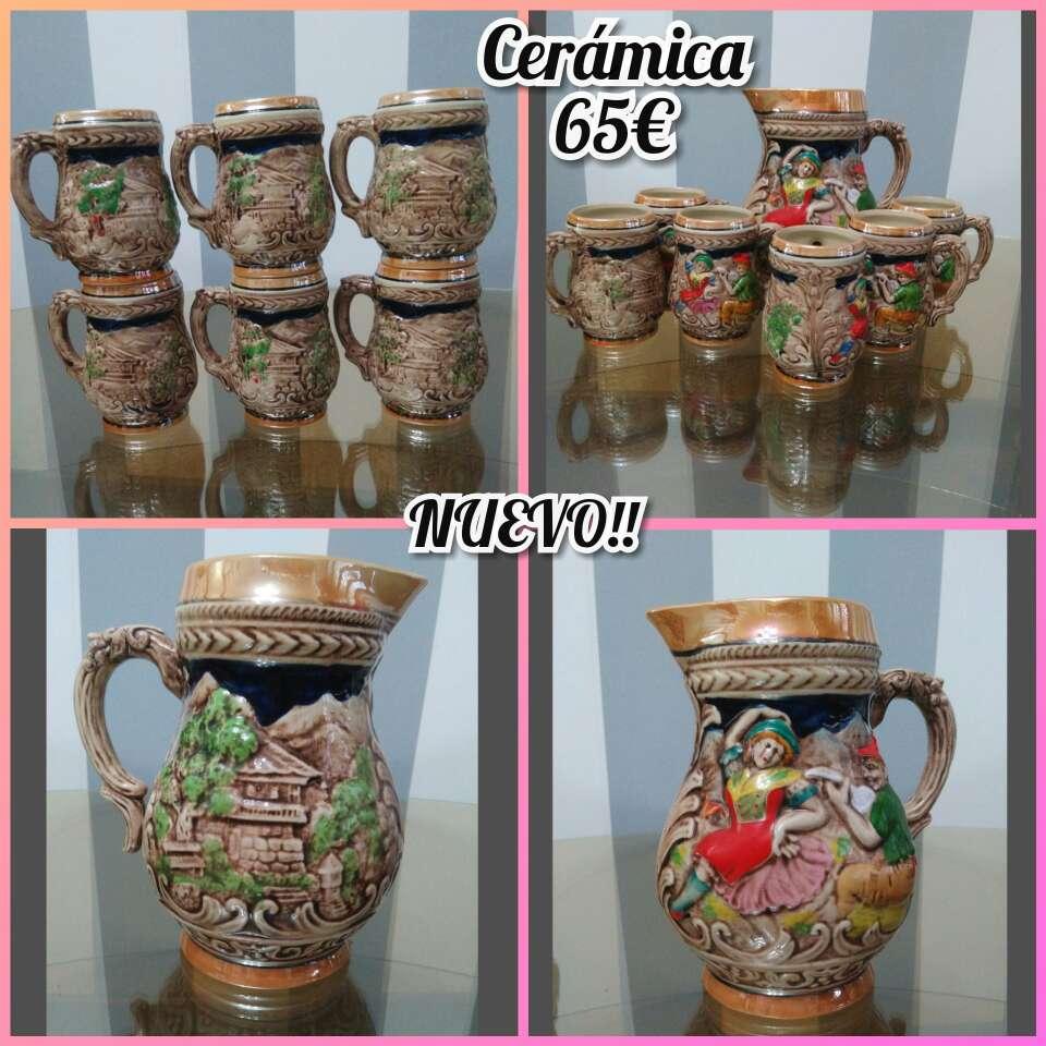 Imagen producto Sopera antigua, jarras... 5
