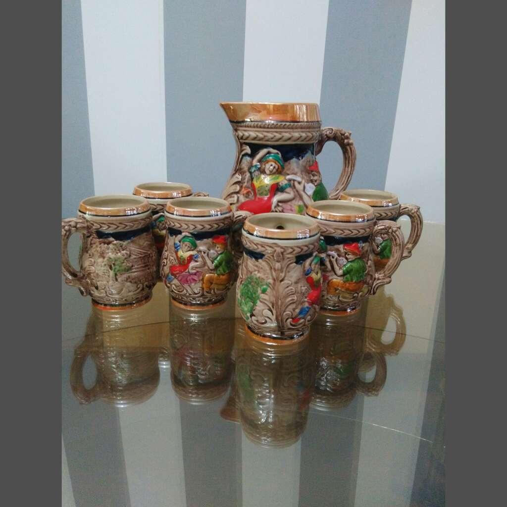 Imagen producto Sopera antigua, jarras... 6