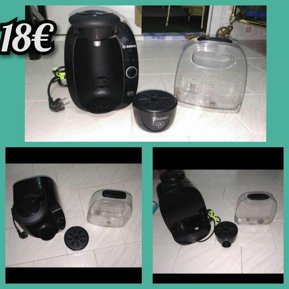 Imagen Cafetera, plancha y secador