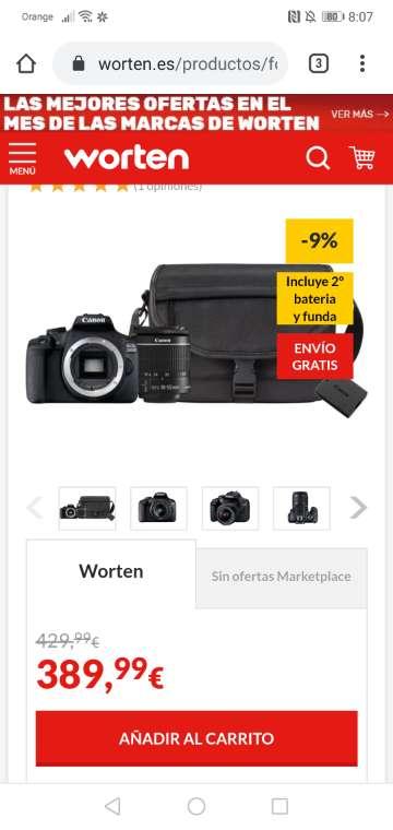 Imagen producto Canon eos 450D 10