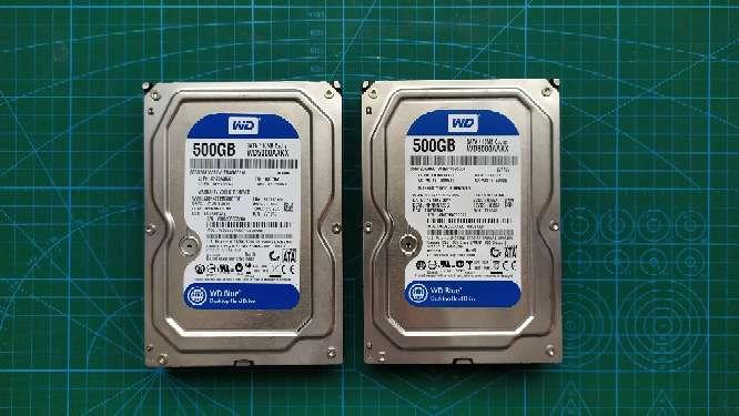 Imagen Dos HDD 500GB
