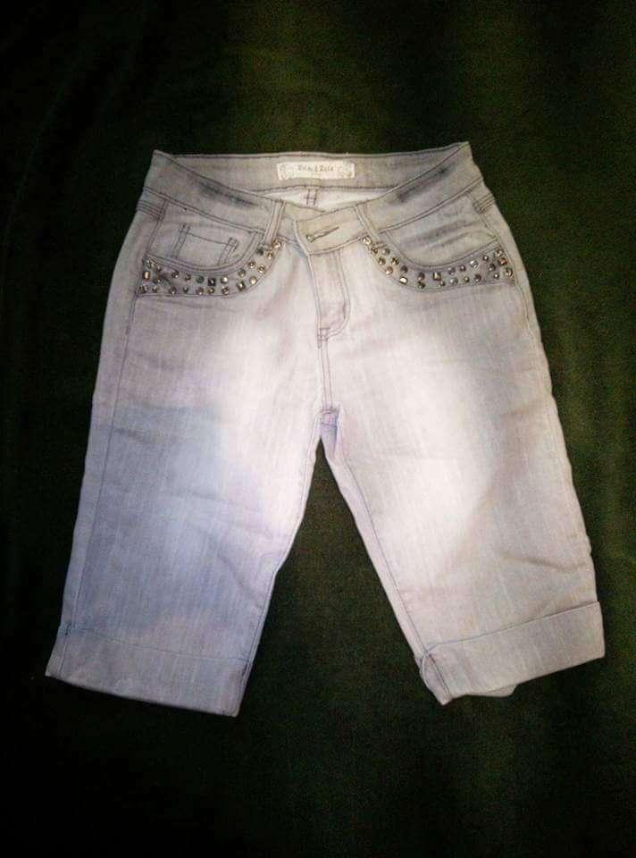 Imagen pantalones cortos mujer
