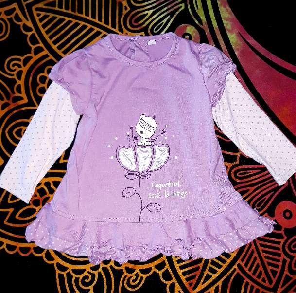 Imagen Vestido lila, 12m.