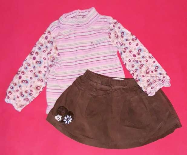 Imagen producto Conjunto falda, 12m.  3