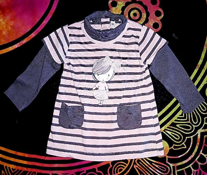 Imagen producto Vestido muñequita 12m.  1