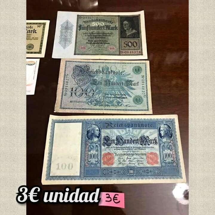 Imagen Lote billetes distintos países