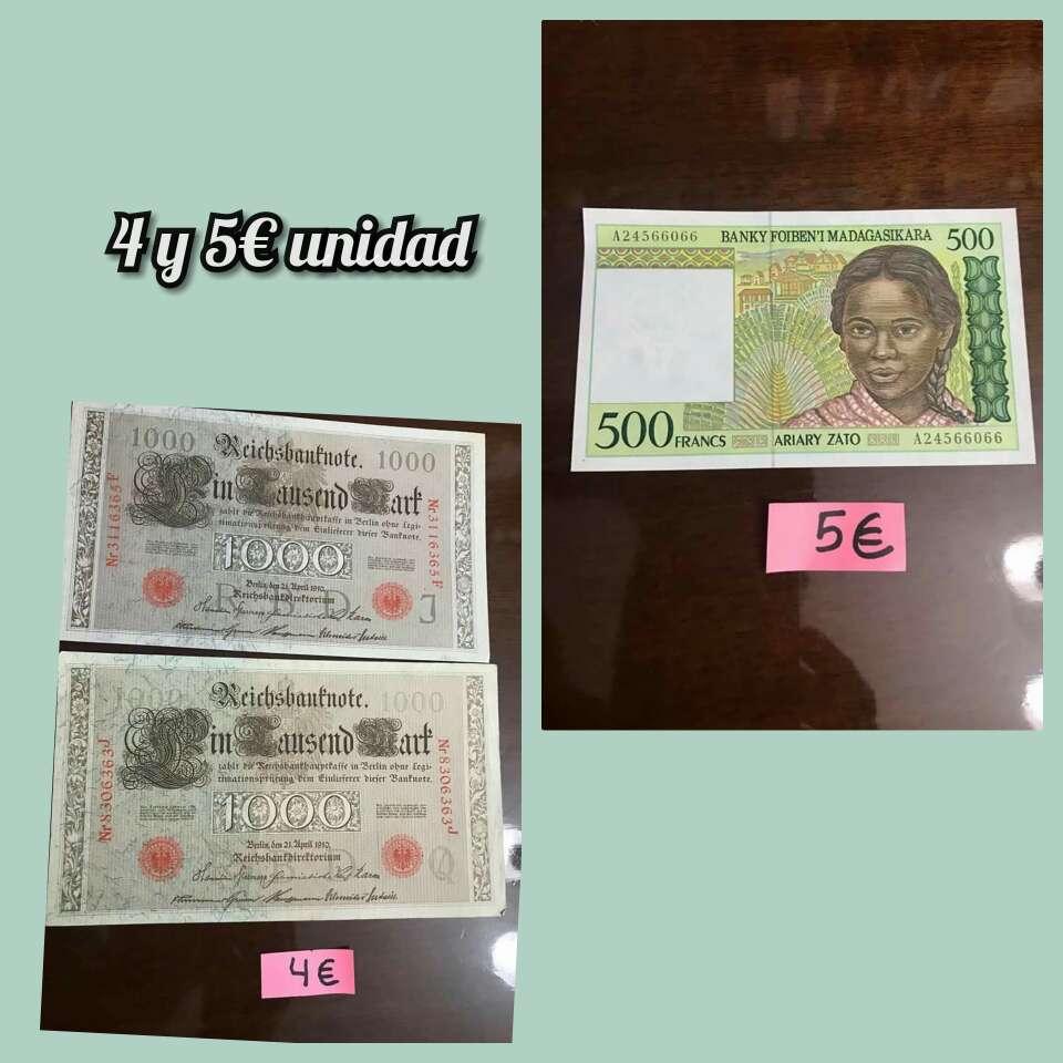 Imagen producto Lote billetes distintos países 3