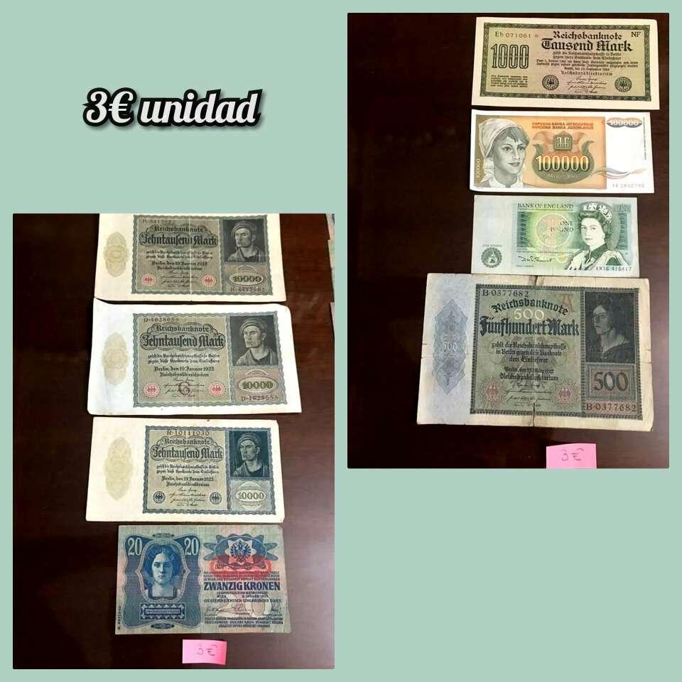 Imagen producto Lote billetes distintos países 2