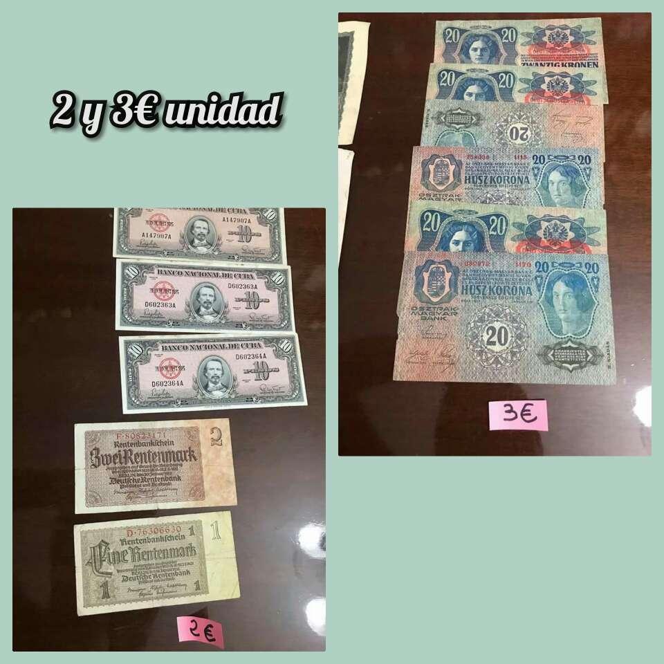 Imagen producto Lote billetes distintos países 5