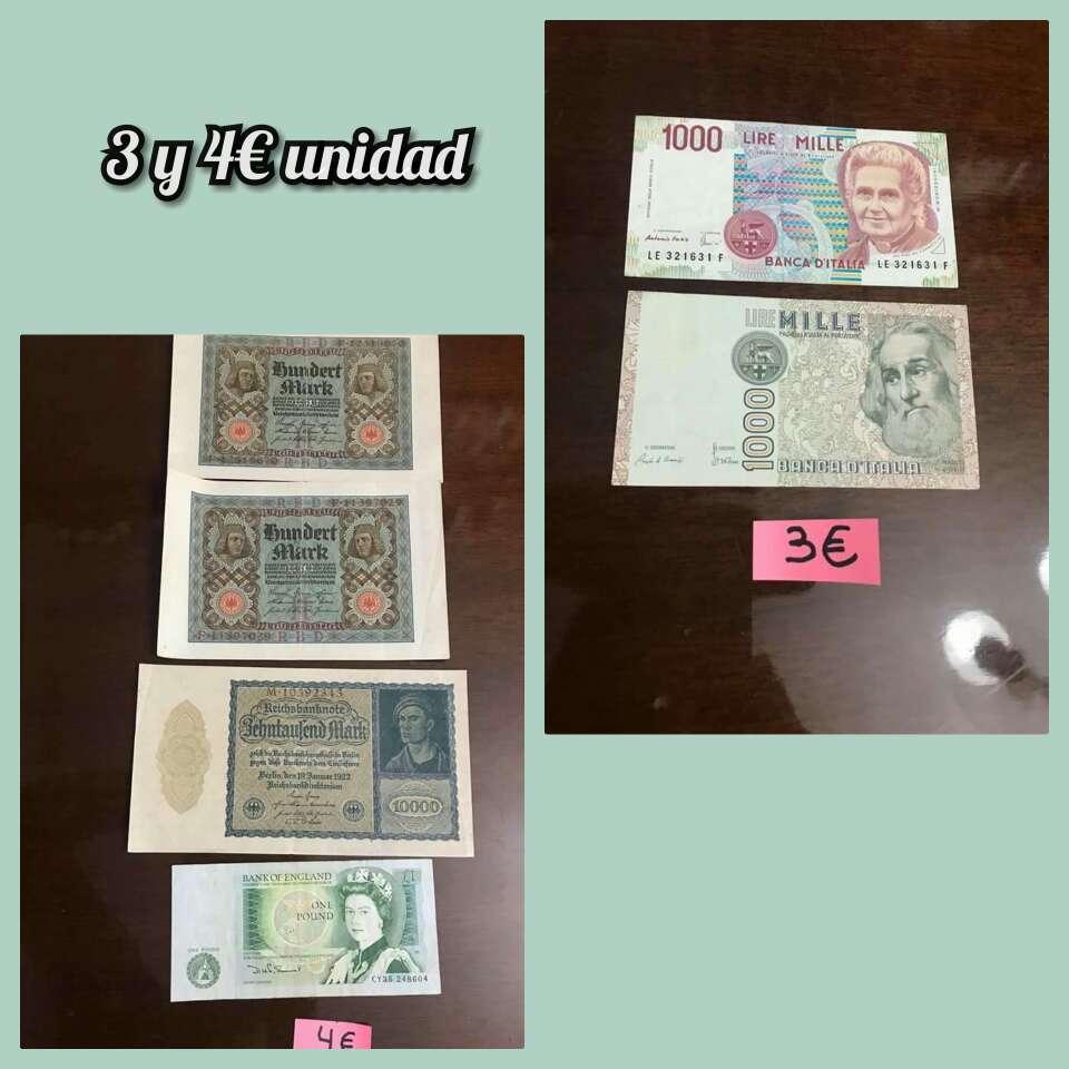 Imagen producto Lote billetes distintos países 4