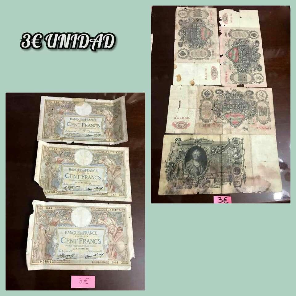 Imagen producto Lote billetes distintos países 6
