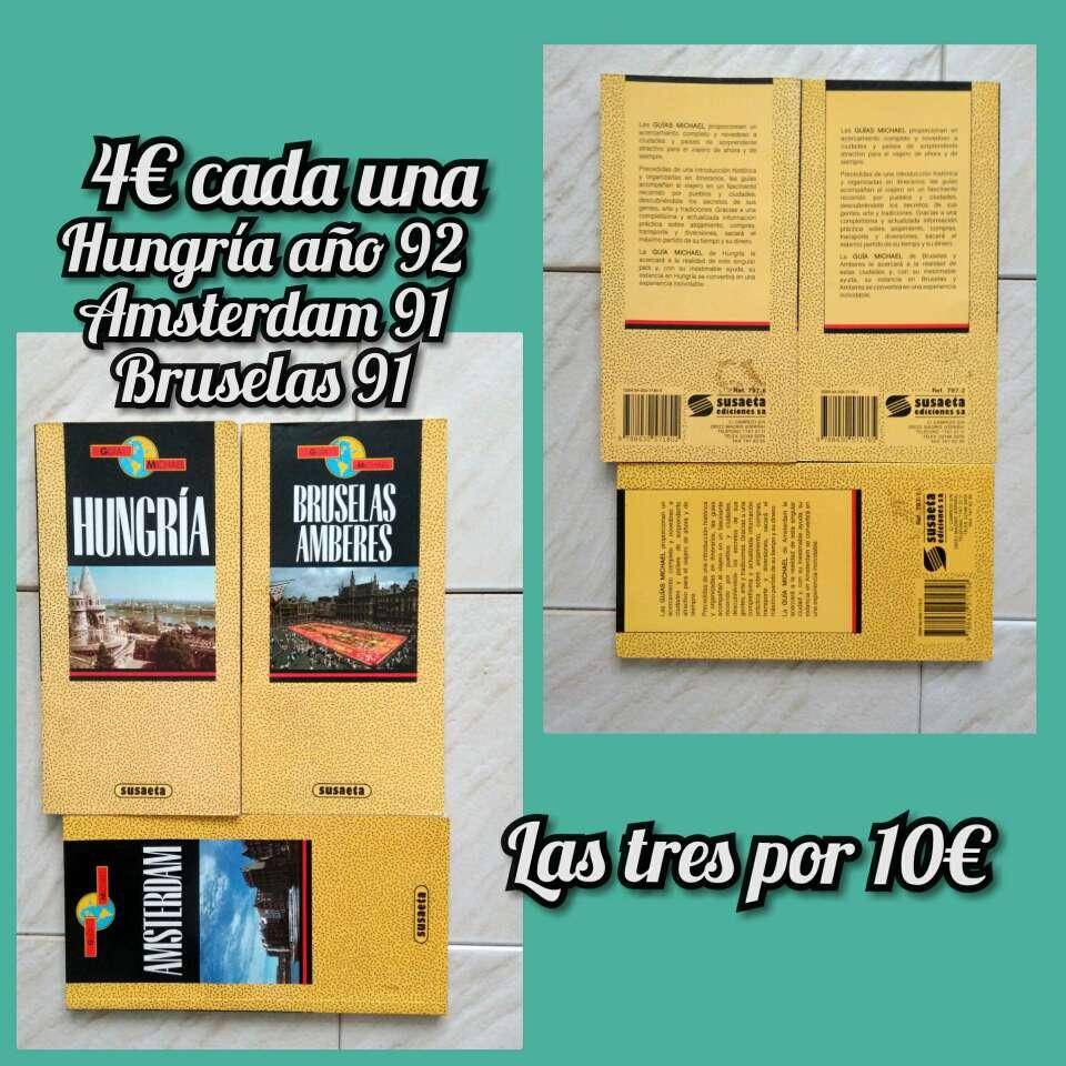 Imagen producto Guías viajes antiguas 2